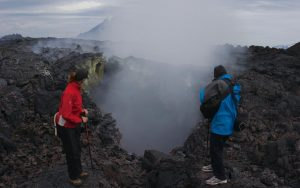 Walking on the Lava (2)